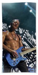 Phil Collen Hand Towel by Luisa Gatti