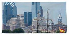 Philadelphia Skyline El Galeon Andalucia Hand Towel by Terry DeLuco