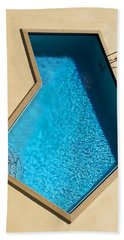 Pool Modern Hand Towel by Laura Fasulo