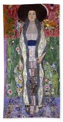Portrait Of Adele Bloch-bauer II Hand Towel by Gustav Klimt