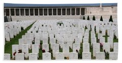 Bath Towel featuring the photograph Pozieres British Cemetery by Travel Pics