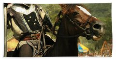 Prepare The Joust Hand Towel by Paul Ward
