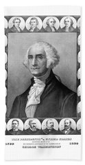 Presidents Of The United States 1789-1889 Hand Towel by War Is Hell Store