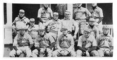 Princeton Baseball Team Hand Towel by American School