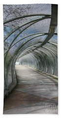 Rattlesnake Bridge 2 Hand Towel by Teresa Zieba
