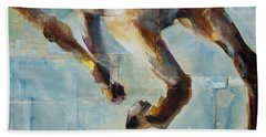 Ride Like You Stole It Hand Towel by Frances Marino