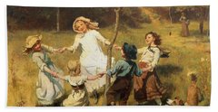 Ring Of Roses Hand Towel by Frederick Morgan