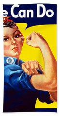 Rosie The Rivetor Hand Towel by War Is Hell Store
