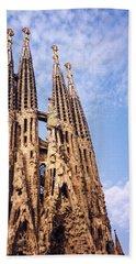 Sagrada Familia Hand Towel by Sandy Taylor