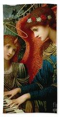 Saint Cecilia Hand Towel by John Melhuish Strukdwic