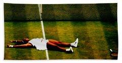 Serena Williams History Made Hand Towel by Brian Reaves