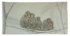 Snowed Under Hand Towel by Pat Scott