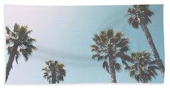 Summer Sky- By Linda Woods Hand Towel by Linda Woods