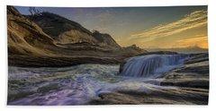 Sunset At Cape Kiwanda Hand Towel by Rick Berk