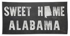 Sweet Home Alabama Hand Towel by Nancy Ingersoll