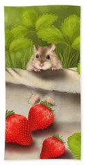 Sweet Surprise Hand Towel by Veronica Minozzi