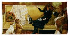 Teatime Treat Hand Towel by John Charlton