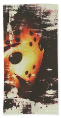 Terror On The Ice Hand Towel by Jorgo Photography - Wall Art Gallery