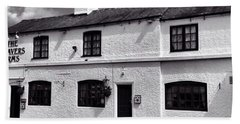 The Weavers Arms, Fillongley Hand Towel by John Edwards