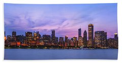 The Windy City Hand Towel by Scott Norris