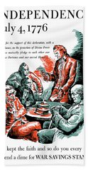 They Kept The Faith - Ww2 Hand Towel by War Is Hell Store