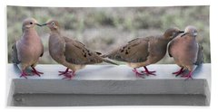 Together For Life Hand Towel by Betsy Knapp