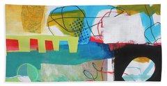 Train Wreck#6 Hand Towel by Jane Davies