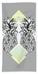 Tropical Hand Towel by Barlena Illustrations