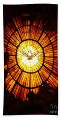 Vatican Window Hand Towel by Carol Groenen