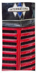 Vintage International Truck Hand Towel by Douglas Barnard