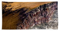 Hand Towel featuring the photograph Volcanic Ridge II by M G Whittingham