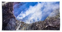 Hand Towel featuring the photograph Volcano by M G Whittingham