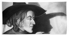 Wicked Witch Of The West Hand Towel by Greg Joens