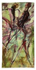 Windy Day Hand Towel by Ikahl Beckford