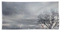 Winter Hand Towel by Lourry Legarde