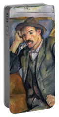 The Smoker Portable Battery Charger by Paul Cezanne