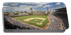 0415 Wrigley Field Chicago Portable Battery Charger by Steve Sturgill