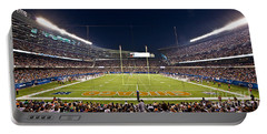 0587 Soldier Field Chicago Portable Battery Charger by Steve Sturgill