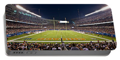 0588 Soldier Field Chicago Portable Battery Charger by Steve Sturgill