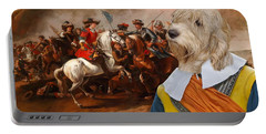 Petit Basset Griffon Vendeen Art Canvas Print  Portable Battery Charger by Sandra Sij