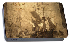 A Pirate Looks At Forty Portable Battery Charger by John Stephens