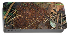 Army Ant Bivouac Site Portable Battery Charger by Gregory G. Dimijian, M.D.