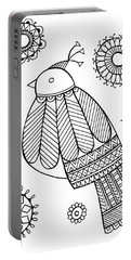 Bird Dove Portable Battery Charger by Neeti Goswami