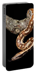 Blood Python Python Brongersmai Portable Battery Charger by David Kenny