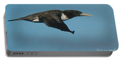 Blue-footed Booby Portable Battery Charger by Ron Sanford