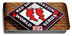 Boston Red Sox 1912 World Champions Portable Battery Charger by Stephen Stookey