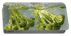 Broccoli Portable Battery Charger by Science Source