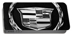 Cadillac Emblem Portable Battery Charger by Jill Reger