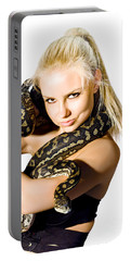 Danger Woman Portable Battery Charger by Jorgo Photography - Wall Art Gallery