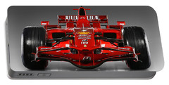 Ferrari F1 Portable Battery Charger by Marvin Blaine